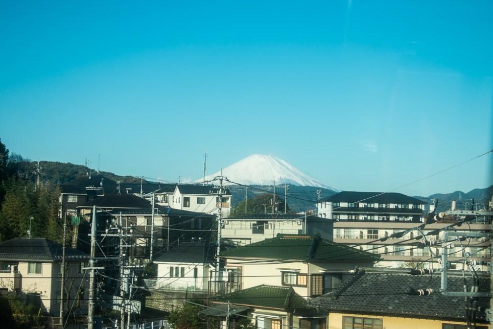 hakone day trip - mount fuji
