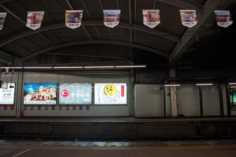 hakone-yumoto station romance car