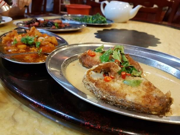 верхняя пища в малакке - hakka zhan