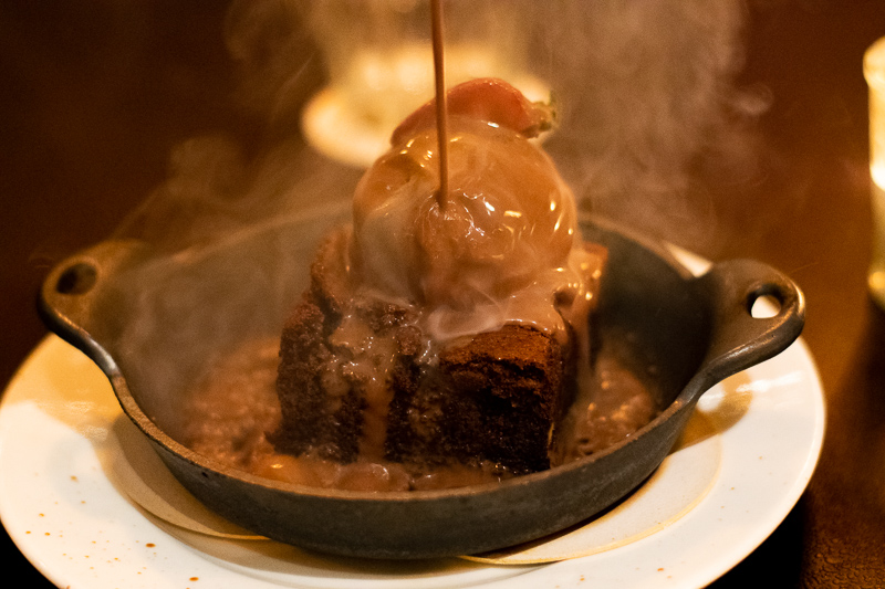 acme bar sizzling brownie