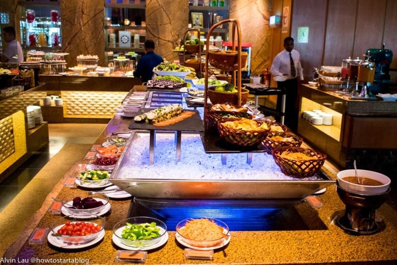 best hotel buffet in malacca