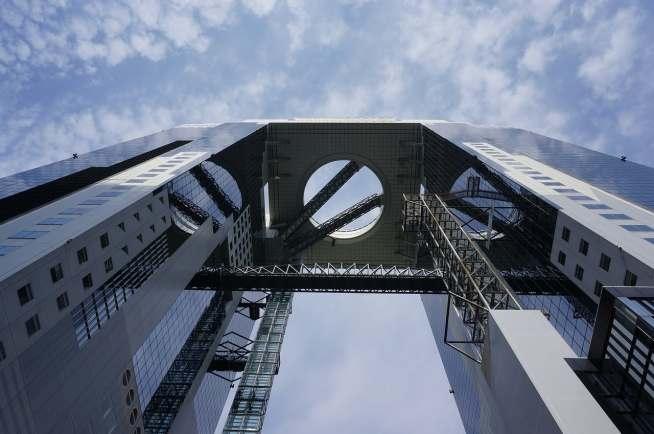 umeda sky building - osaka attraction