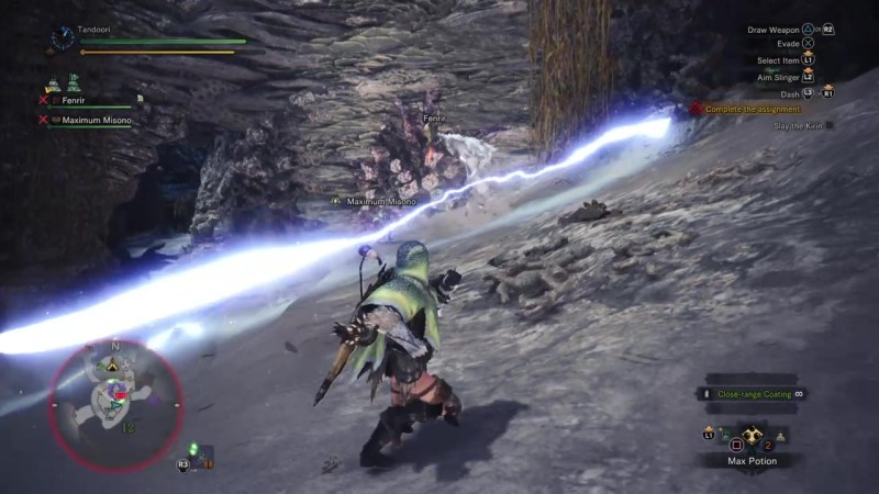 monster hunter world tempered kirin