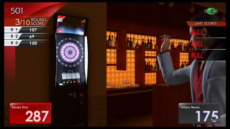 yakuza kiwami 2 darts