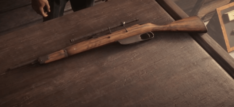 best scoped rifle in red dead redemption 2