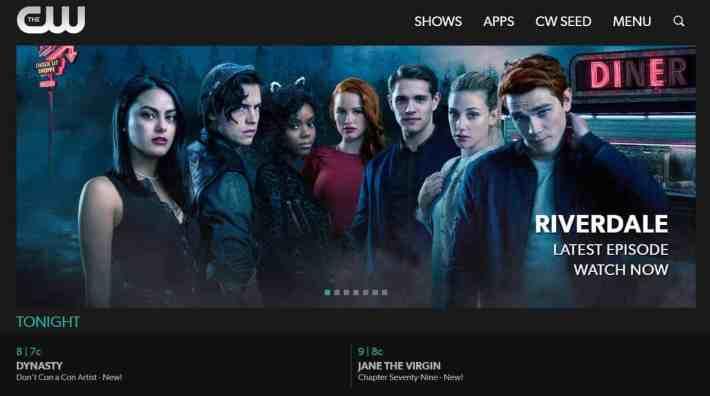 best websites for streaming tv shows