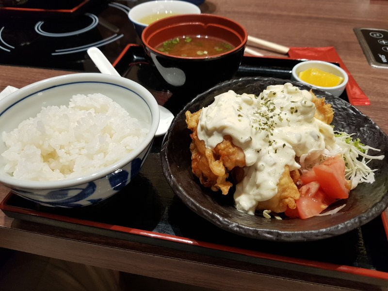 j's gate dining food review