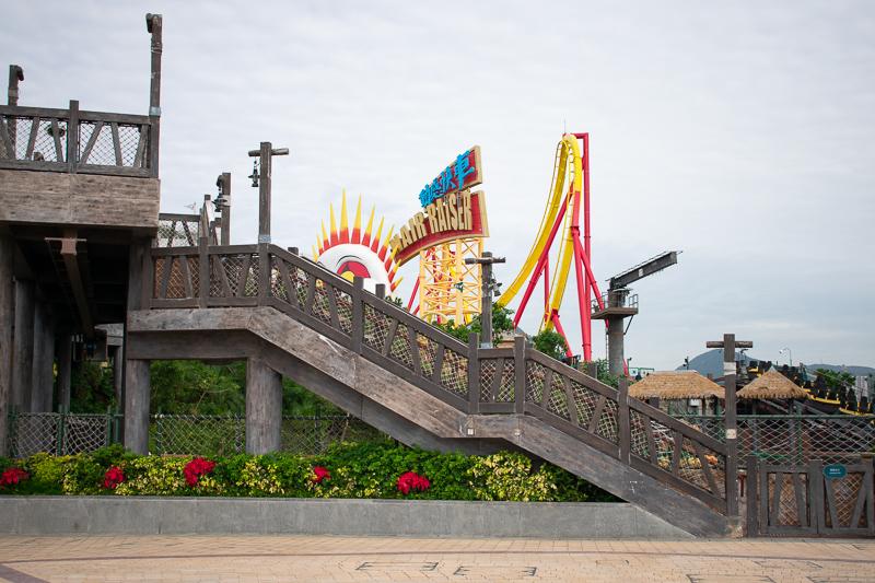 ocean park roller coasters