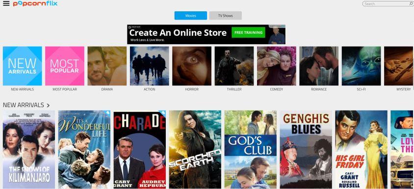stream tv shows free on websites