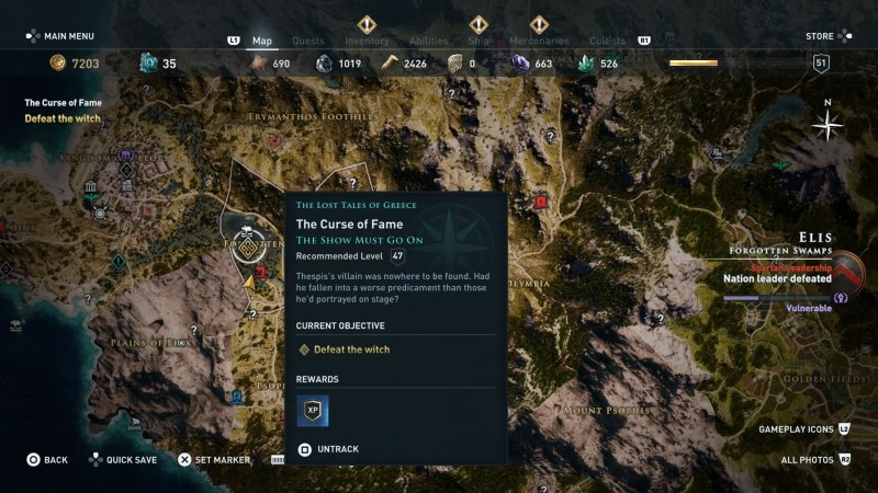 assassins-creed-odyssey-the-curse-of-fame-guide