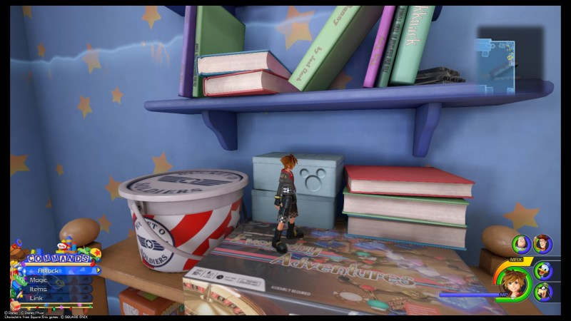 Image result for kingdom hearts iii lucky emblem toy box