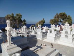 Cematery on Karpathos
