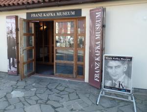 The Franz Kafka Museum entrance