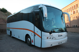 A typical souk bus.