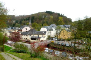 A typical Luxembourg village