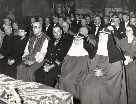 Suore Brigidine alla cerimonia Investitura Ordine S. Brigida