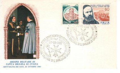 busta-commemorativa-investitura-Cavalieri-Ordine-Militare-S.-Brigida