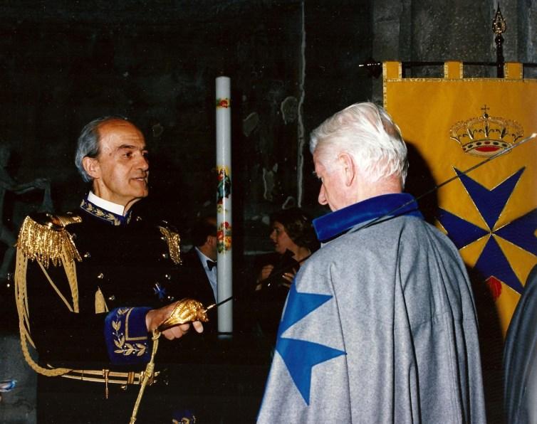 investitura Cavaliere Ordine S. Brigida