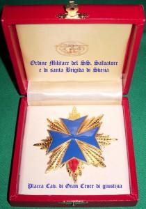 Placca di Cavaliere di Gran Croce