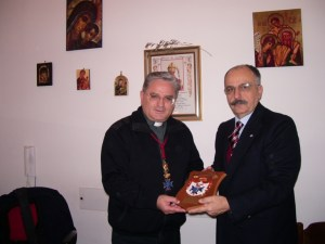Crest Ordine Militare S. Brigida donato dal Cancelliere  a P PETRILLO