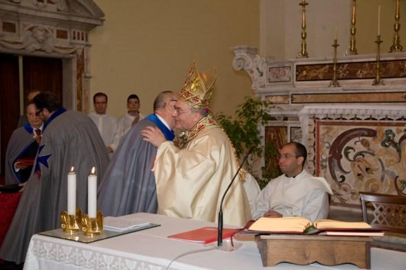 S.Ecc. Mons. Bruno Schettino Gran Priore Ordine Militare S. Brigida