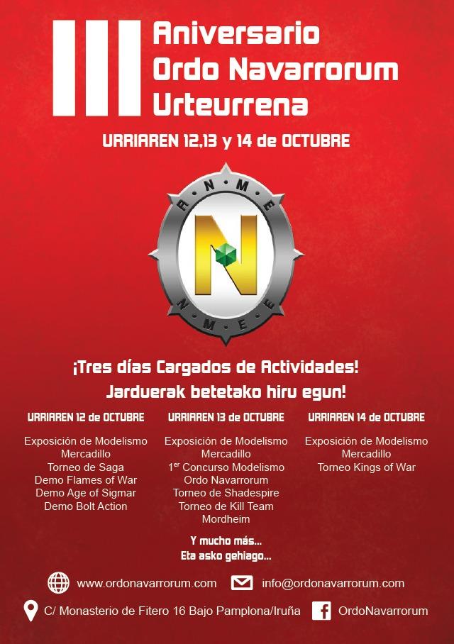 3_Aniversario_Ordo_Navarrorum