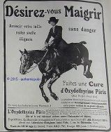 publicite-oxydothyrine-paris-medicament-cavaliere-cheval-de-1914