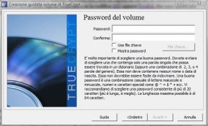 TrueCrypt: Password