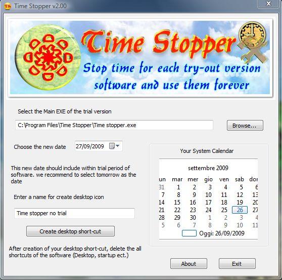 time stopper italiano