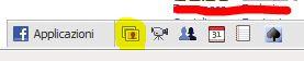 Facebook: icona immagini bassa