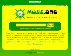musiz.org, download mp3 gratis, musica, motore di ricerca musica
