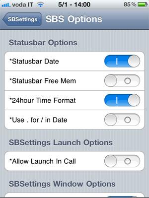 SBS-options
