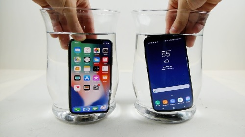 iphone x ip67 galaxy s9 ip68-