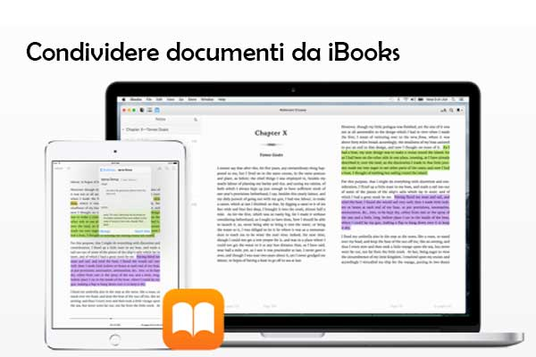 Come condividere documenti PDF da iBooks