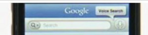 Interfaccia Google Mobile App