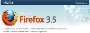 Aggiornamento a Firefox 3.5