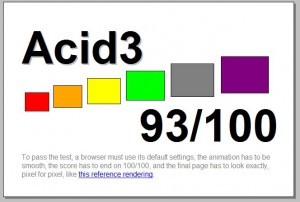 Firefox 3.5: Test Acid 3