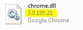 Google Chrome: chrome.dll