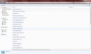 Windows 7, God Mode, Trucchi