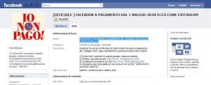 Facebook gruppo fregatura