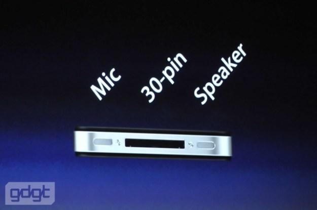 iPhone 4 Parte bassa