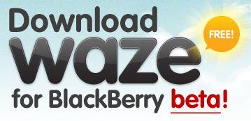 Waze BlackBerry