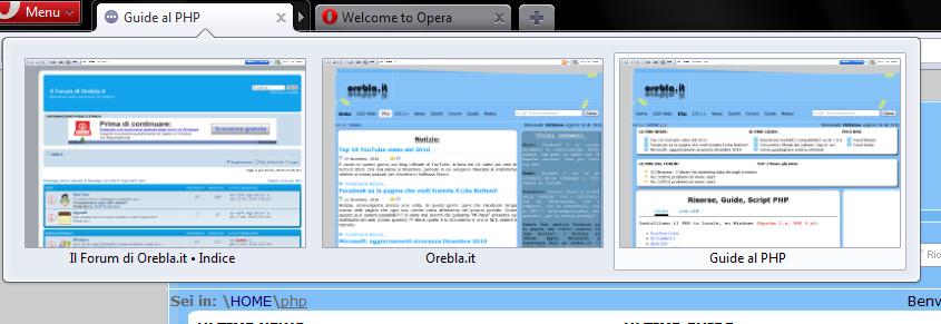 Opera 11: TabStacking