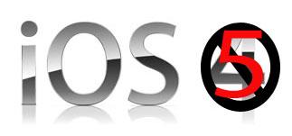 Apple iOS 5 Logo