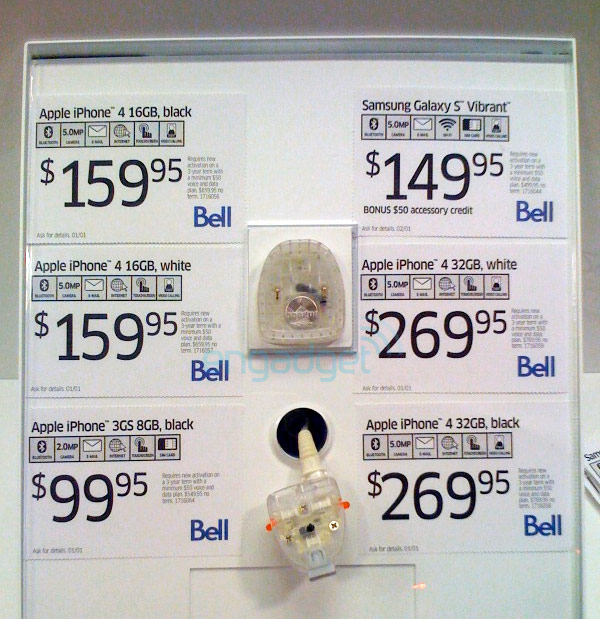 Bell iPhone 4 Bianco