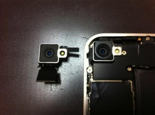 iPhone 4 bianco hardware fotocamera differente dal modello nero