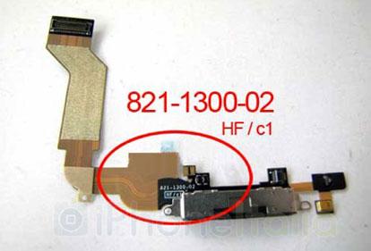 iPhone 5: flex del dock intero.