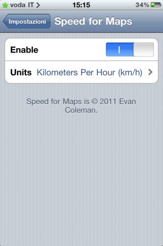 Speed for Maps v1.1
