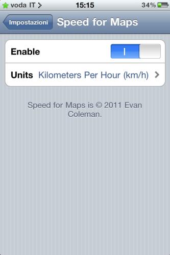 Speed for Maps v1.1