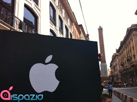 Apple Store Bologna logo mela